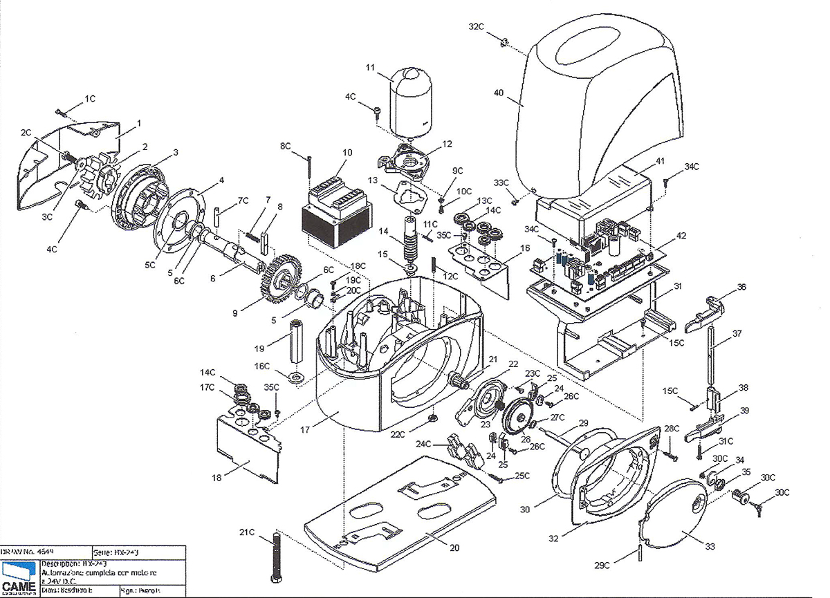 Vue détaillé machine